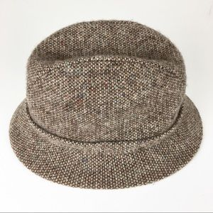 Men's Kangol Fedora Bucket Hat Tweed Vintage Wool